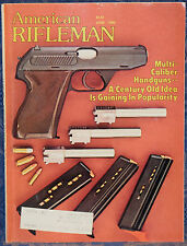 Magazine American Rifleman, JUNE 1980 COLT AR-15 w/Collapsible Buttstock RIFLE