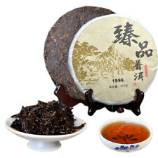 Premium Puer Cooked Tea Cake 1996 Chinese Yunnan Ripe Pu-erh for Collection 357g