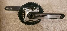 Shimano SLX M670 Chainset Crankset. Hollowtech 2. 38-24 chainrings
