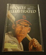 Sports Illustrated April 22, 1957 Wally Moon Pancho Gonzales Tex Rickard Apr '57
