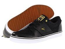 Puma Shoes Mens Size 10 El Ace 2 Black Denim Athletic Casual Fashion Sneaker