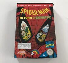 Spider-Man Return Of The Sinster Six (Nintendo Entertainment System, 1992)
