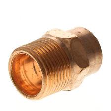 """[4-Pack] 1"""" Inch Copper Male Adapter Sweat x Male NPT (CxM), Certified Lead Free"""