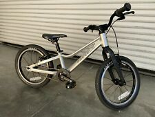"""Prevelo Alpha Two 16"""" Kids bicycle Speed Silver"""