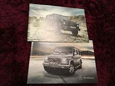 Mercedes-Benz G-Class Brochure 2011 - 09/10 Issue  inc G55 AMG + Price List