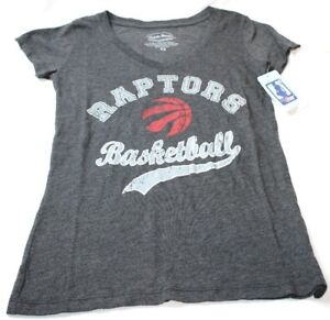 Toronto Raptors NBA Women's DEROZAN Soft Triblend V Neck T Shirt Women's New