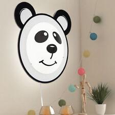 "Eglo 95746 Pandino Enfants Applique murale ""panda"" / Blanc Noir"