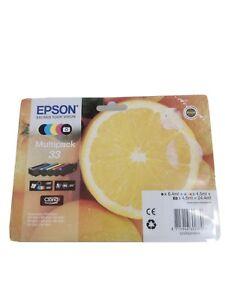 Epson C13T33374010 33 Oranges Ink Cartridges Multipack
