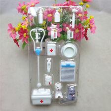 14Pcs Mini Medical Equipment Toys For Barbie Doll Accessories Set stylish