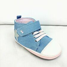Surprize by Stride Rite Baby Girls Denim Sneaker Mini Shoes 18-24 M
