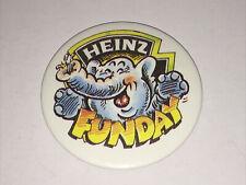 Heinz Funday - Elephant - Button Badge 1980's