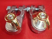 2 PC. MARINE DEKA Heavy-Duty Top Post Battery CABLE END Terminal #00149 USA