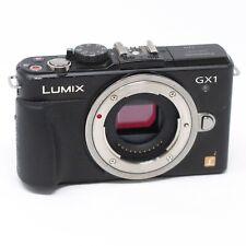 Panasonic LUMIX DMC-GX1 digital camera 16MP - Black (Body Only) - Untested