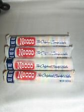 4 Roll of NECCO Candy Wafers Original Assorted Flavor New Exp 05/28/23