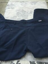 Cintas Mens FR 746-20 Flame Resistant Blue Navy Pants 40 X 30 ARC1 NEW *