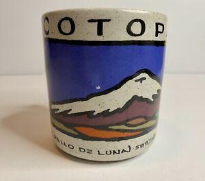ECUADOR Cotopaxi Cordillera De Los Andes COFFEE Mug Cup ROBERTO CEVALLOS