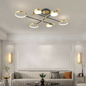 Large Chandelier Lighting Gold Pendant Light Modern Ceiling Lights Kitchen Lamp