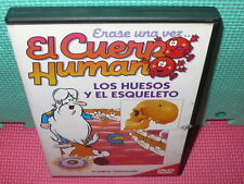 ERASE UNA VEZ EL CUERPO HUMANO - LOS HUESOS Y EL - N.9