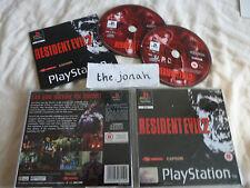 Resident Evil 2 PS1 (COMPLETE) Capcom rare black label Sony Playstation