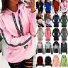 Women's Hoodie Sweatshirt Hooded Sweater Coat Pullover Long Sleeve Jumper Tops