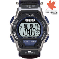 Timex 5K198 Ironman Triathlon 30 Lap Shock Resistant Watch ?? FAST & FREE