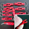 1/10pcs Pad Heavy Tension Snap Release Clip for Weight,Planer Board,Kite Red