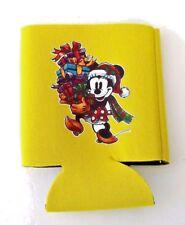 1 Minnie Christmas custom heat transfer soda/beer yellow can koozie new