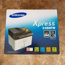 BRAND NEW Samsung SL-C480FW Wireless Multi-function Color Laser Printer