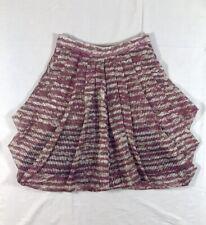 Brian Reyes 100% Silk Pleated Miniskirt size 2