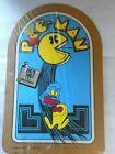Pac-Man+Corkboard+1980+Bally+Midway+Mfg+NOS+