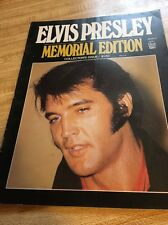1977 ELVIS PRESLEY MEMORIAL EDITION From IDEAL MAGAZINE