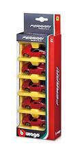 Bburago Ferrari Race & Play 1:64 5 Pack - Red