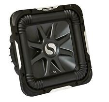 KICKER Solobaric L7 Woofer (38 cm) L7S152 Square-Subwoofer Chassis 2000 W 2 Ohm