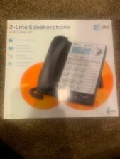 AT&T 2 Line Speakerphone With Caller ID 18 Number Speed Dial Ml17928