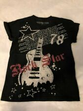 Men's Heritage 1981 Black Rock Star Tee Shirt Size Small