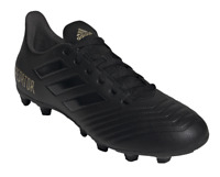 Adidas Men Football Shoes Boots Predator 19.4 FG Soccer Cleats Black F35600 New