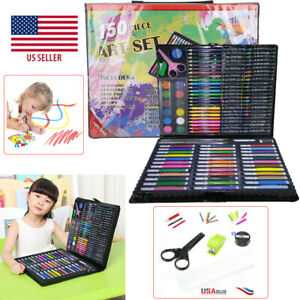 Art Drawing Set Kit 150P For Kids Childrens Teens Adults Supplies Paint Pencil