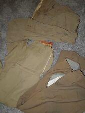 WWII - 1950's US Army Navy Khaki Pants Trousers Lot NAMED BARGAIN LOT