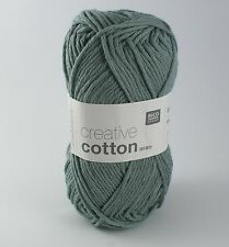 Rico Creative Cotton Aran-COTON TRICOT & CROCHET Yarn-Patine 43