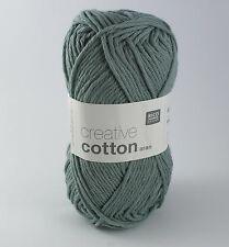 Rico Creative Cotton Aran -  Cotton Knitting & Crochet Yarn - Patina 43
