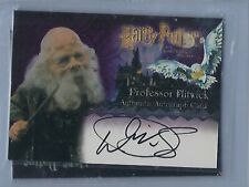 Harry Potter The Sorcerers Stone Professor Flitwick Warwick Davis Autograph Card