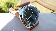 NEW Vintage Marina Militare Homage Watch Mechanical with clear back case MM3001