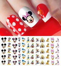 Mickey Mouse & Friends , Goofy Nail Art Decals - Salon Quality! Disney