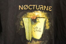 """""""NOCTURNE"""" GUIDE TO EXTINCTION  Heavy Unisex  T-SHIRT  Large  music protest  VG"""