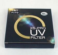Slim XS-Pro 62/67/72/77/82 MM Digital Multi Coated Ultraviolet MCUV MC-UV Filter