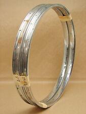 "Vintage New NOS Original Schwinn Bicycle Tubular S-7 28H 24 x 1 3/4"" Rims (Pair)"