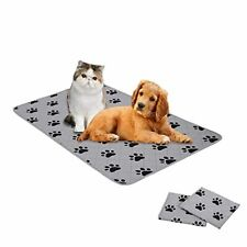 Non Slip Washable Dog Pads - Dog Crate Pads Dog Pee Training Pads Rugs (2 Pack)