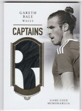 2020 Futera Unique Captains Relic #02 Gareth Bale - Wales - Real Madrid 05/34