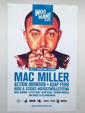 Mac Miller 11x17 Tour  Music Poster (Netherlands Tilburg 2017)