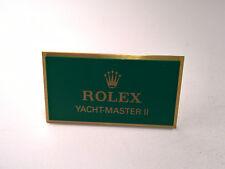 Rare Vintage Rolex Dealer Display Yacht-Master II Plaque Plate